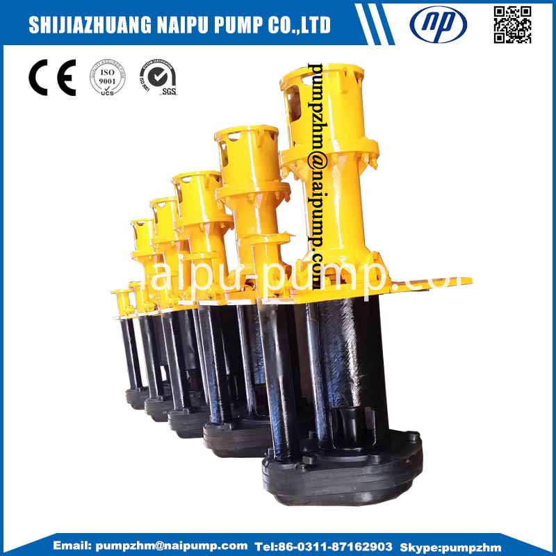 18 Vertical Slurry Pumps