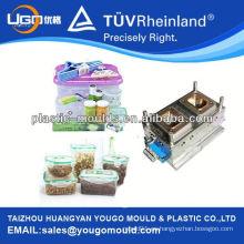 2013 alimentos cajas de fabricación de moldes y almuerzo PP almuerzo caja de moldes y comida de plástico fresco caja