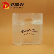 Clear HDPE Die Cut Bag for Beverage