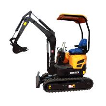 ญี่ปุ่น Yanmar เครื่องยนต์ mini excavator 1.5 ตันราคา