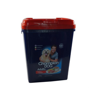15kg Big Volume Pet Food Container