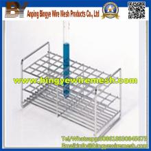 Processamento profundo de malha de arame para rack de tubo de teste