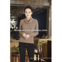Suéter de cachemira de mujer de calidad de lujo de puente