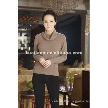 Suéter feminino de luxo de qualidade para senhoras
