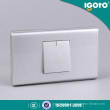 118 Tipo Plata Color 1 Gang Interruptor de la puerta