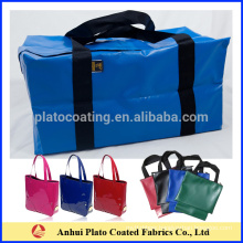 customized outdoor waterproof tarpaulin luggage large volume dry duffle bag
