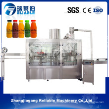 China Reliable Automatic Pulp Juice Filling Bottling Machine