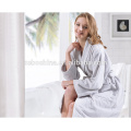 Beste Qualität Terry Tuch Schnitt Samt Stil Custom Farbe 100% Baumwolle Bademantel