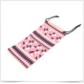 Digital Transfer Printed Microfiber Double Side Pull Phone Pouch