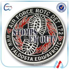 AFROTC DET 172 lembrança antiga moeda militar