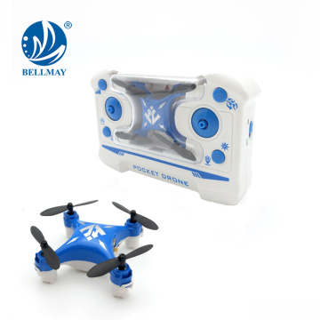 Radio Control 2.4GHz Pocket Drone Mini with One Key Rolling and Return