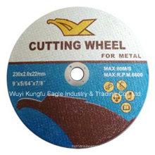 Disque de coupe et de meulage central 9 '' pour métal En12413