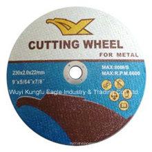 9 ′ ′ Deprimido centro de corte e moagem de disco para Metal En12413