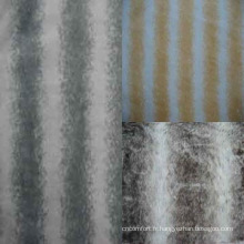 Fausse fourrure faite de 100 % Polyester