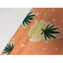 60s Cotton Voile Print Fabric