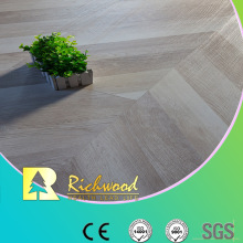 12mm European Herringbone Parquet HDF Wood Laminate Flooring