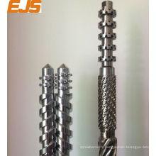 baril de vis 100mm PVC PP extrudeuse seule bimétalliques