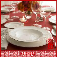 Ensemble de dîner 4pcs porcelaine, vaisselle en céramique, vaisselle en porcelaine