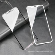 Fabricant Anti Spy Privacy 3d protecteur de verre trempé, protecteur d'écran anti-choc pour iphone Samsung