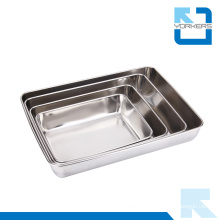 Wholesale Stainless Steel Towel Serving Tray & Plate