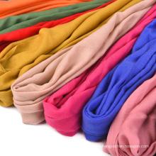 Mongolie intérieure fabricants vente saison mercerisé laine châle laine sergé plaine dame SWW707 écharpe chaude