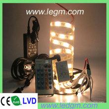 Tira LED de cor única ajustável SMD 5050