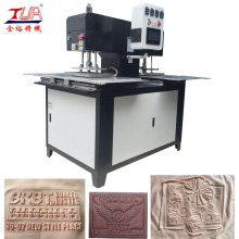 ODM for Fabric Label Embossing Equipment Clothes Label Machine with Two Workstations export to United States Exporter