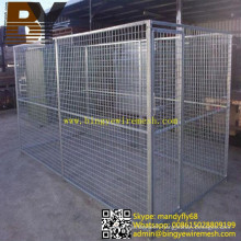 Dog Cage Large Outdoor Welded Mesh Dog Kennel