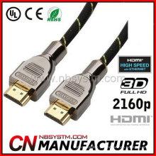 Cabo hdmi 1.4v 2160p qualidade premium 1.4v HDMI para cabo HDMI