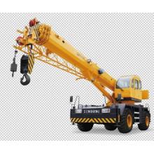 35 Ton Rough Terrain Crane, Heavy Hydraulic Crane XCMG Qry35