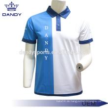 Mesh Stoff Polo T-Shirts für Männer