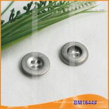 Botón de aleación de zinc y botón de metal y botón de costura de metal BM1644