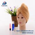 Tie dry microfiber hair towel turban for women turban