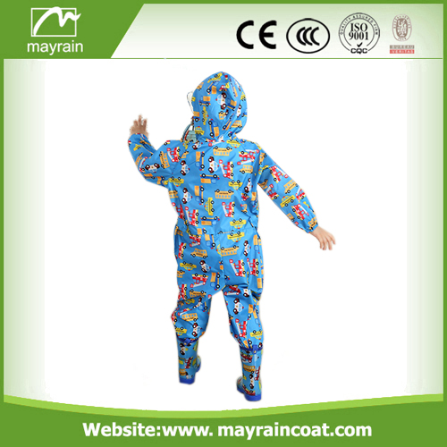 Children's Rainsuit Full Print