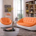 Casual, rodada de sofá de couro criativo 123