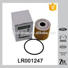 Venta al por mayor de filtro de aceite de papel de Peugeot filtro LR001247 usado en CITROEN VOLVO LANDROVER