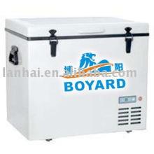 Solar de DC Potencia refrigeración móvil 48v/60v congelador refrigeración por aire sistema de KITS
