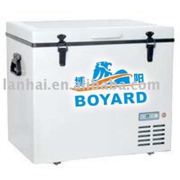 Solaire DC alimentation 48v/60v réfrigération mobile congélateur air système de refroidissement KITS
