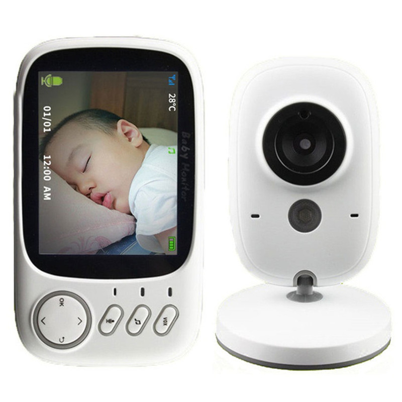 Portable Video And Sound Baby Monitor