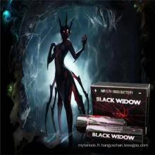 New Hot 18650 Black Widow Battery