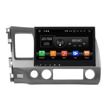 ЖК-экран автомобиля DVD-плеер для Civic