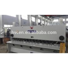 Qc11y-12 * 2500 machine à percer la guillotine hydraulique / machine à couper occasion