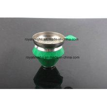 Novo estilo de diamante forma Silicone Hookah Shisha Bowl