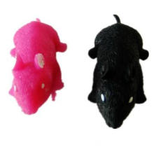 Soft electronic plastic mouse