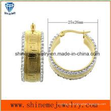 Pendiente de la joyería del acero inoxidable de la joyería del mejor precio de la alta calidad (ERS6952)