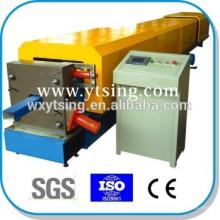 Passé CE et ISO YTSING-YD-6639 Machine de formation de rouleau de tuyau de Downspout automatique complète