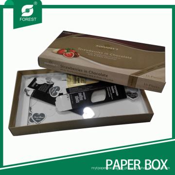 Caixa de embalagem de presente personalizado para atacado