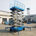 Mobiler hydraulischer Scherenheber 14m