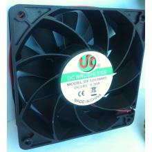 DC12038 Ventilador plástico 120 * 120 * 38 DC ventilador Axial de refrigeração sem escova