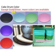 Sangliers colorés et beaux de gâteau, tambours de gâteau, plateau de gâteau, plats de gâteau pour des pâtisseries (B & C-K069)